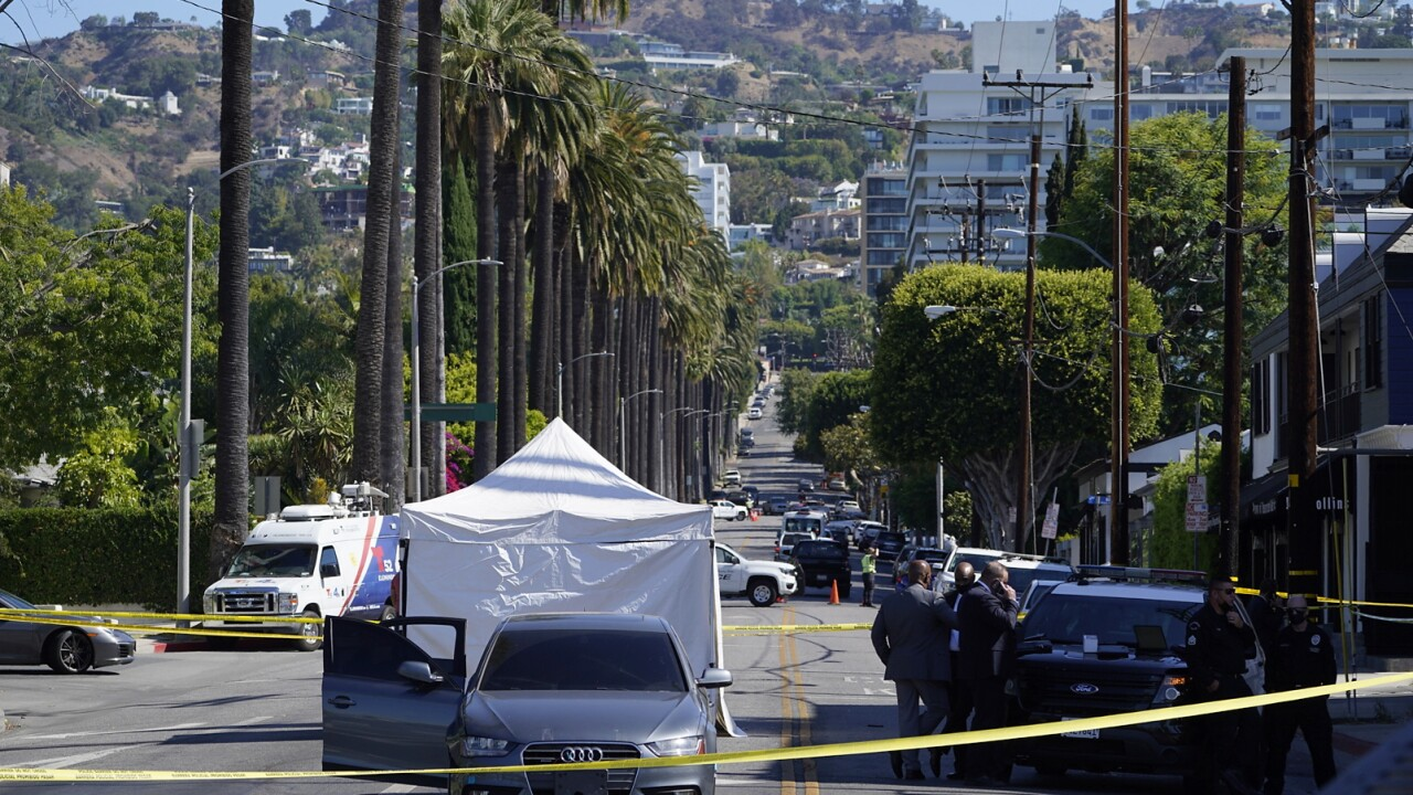 Hollywood Hills Robbery