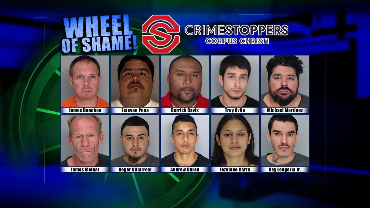 Wheel Of Shame Fugitives: October 16, 2019