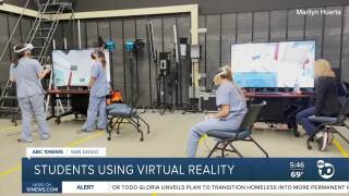 CSU San Marcos nursing students using virtual reality to complete studies