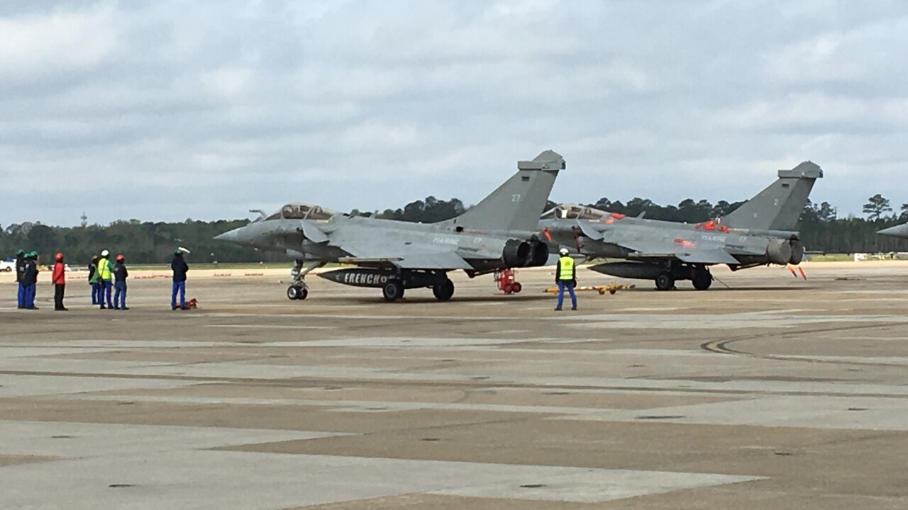 French aviators train alongside their American counterparts in HamptonRoads