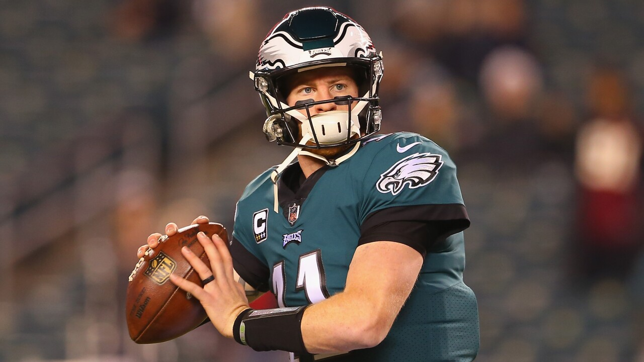 Eagles, Carson Wentz agree to extension that makes him NFC East's highest-paid QB