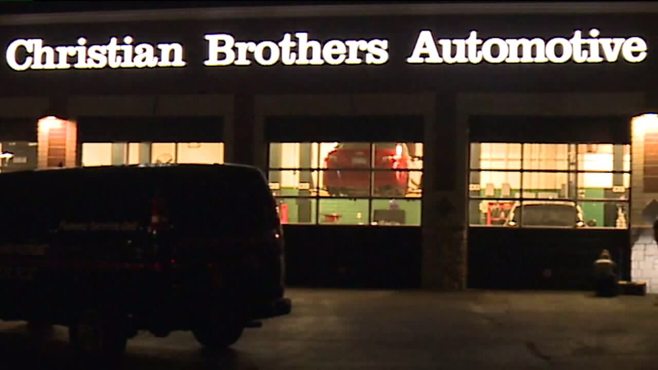 Auto shop break-in Grand Rapids