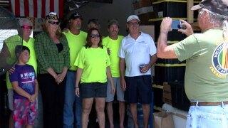 Non-profit veteran group honored in Jensen Beach