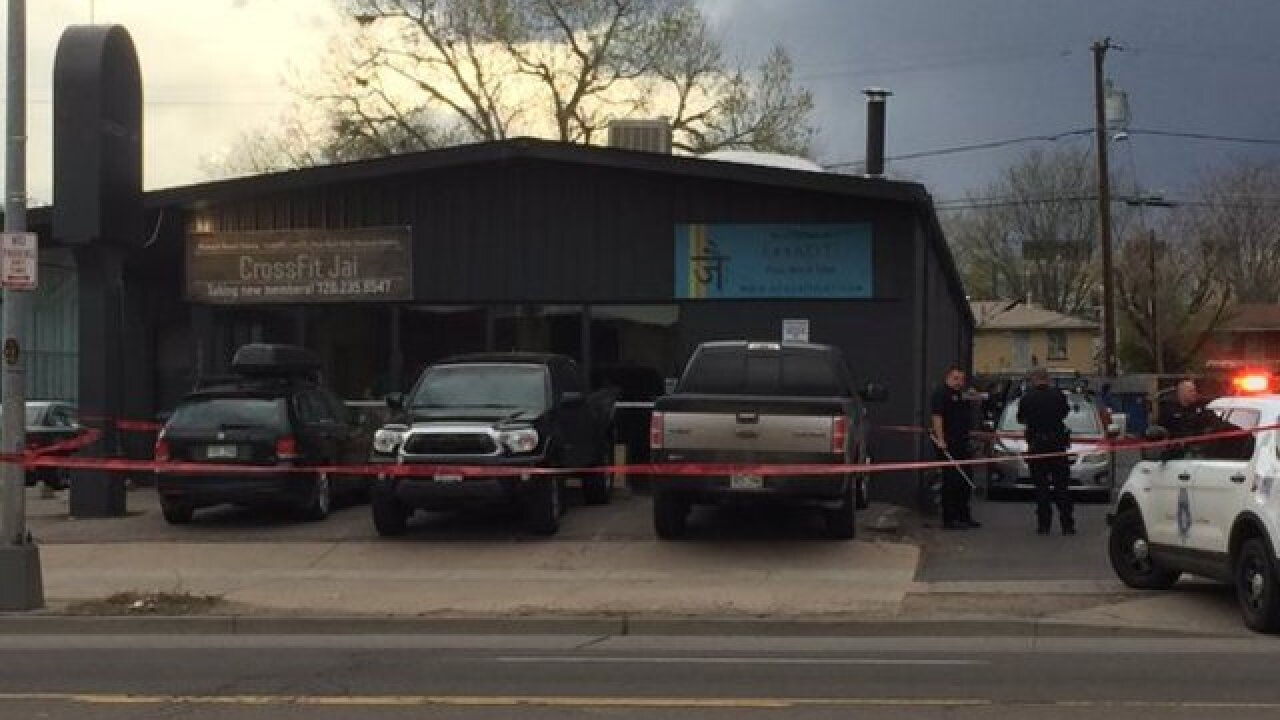 Shooting outside gym sends person to hospital
