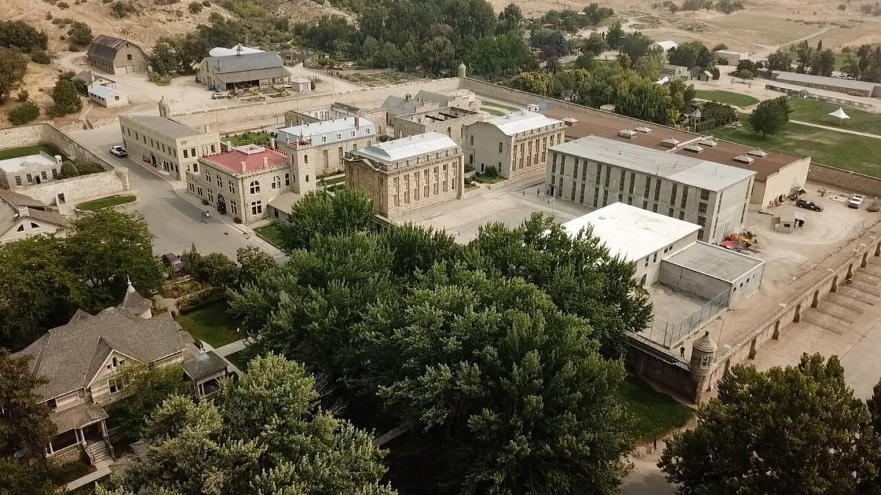 Fact boards at Old Idaho Penitentiary