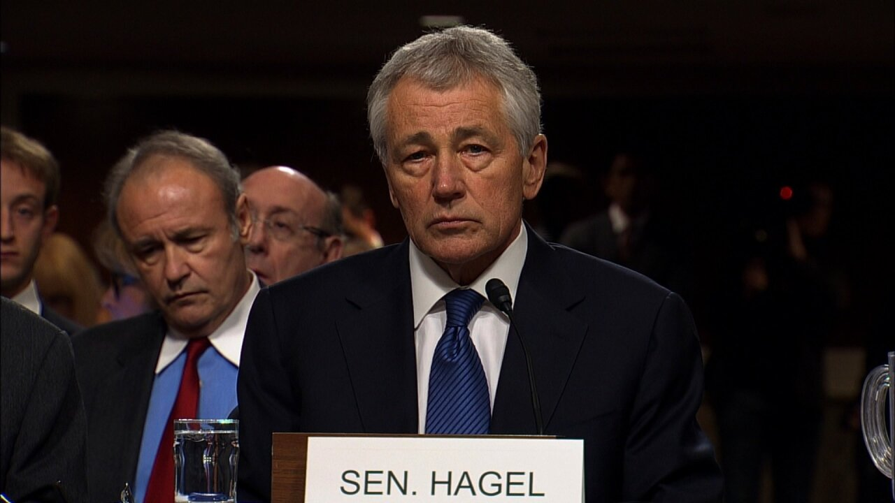 Defense Secretary Chuck Hagel to step down at the request of President Obama