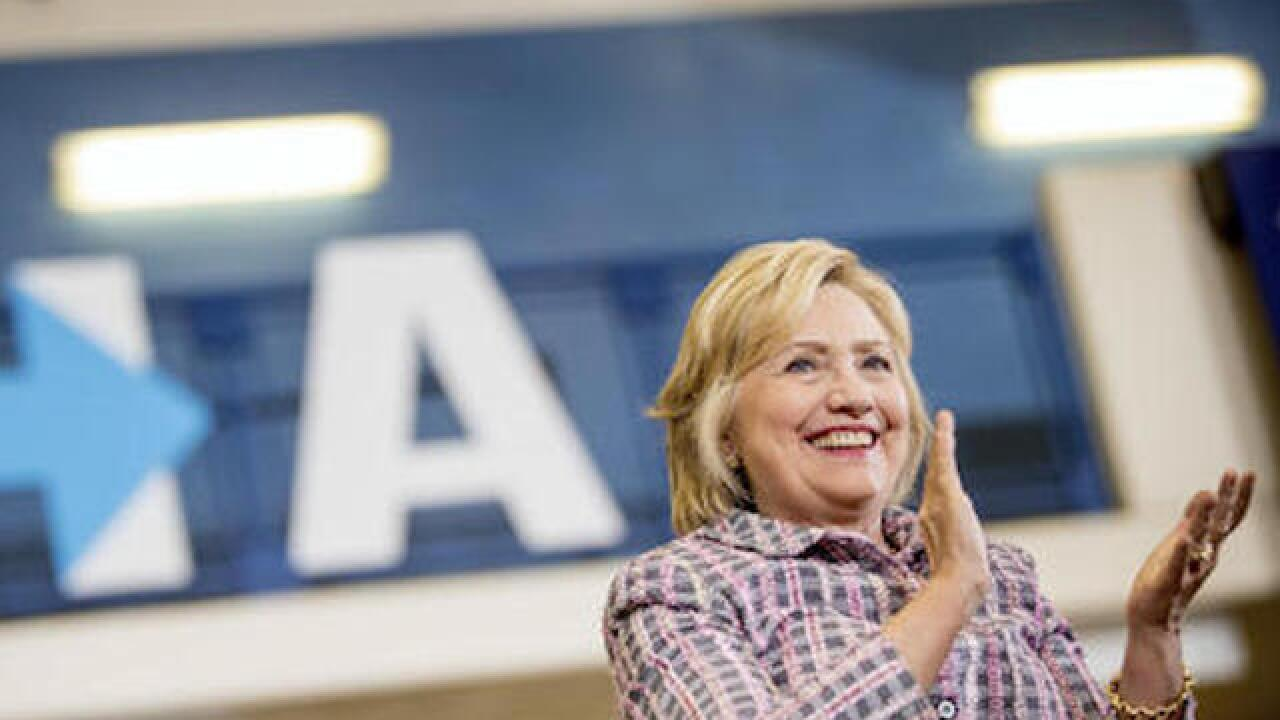 Clinton sees best-yet fundraising numbers as general begins