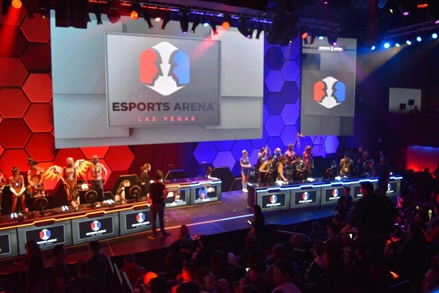 PHOTOS: Esports Arena Grand Opening at the Luxor