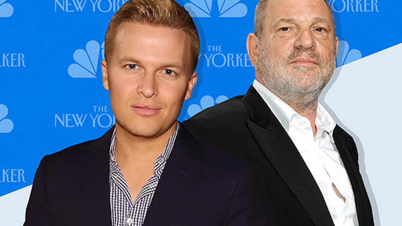 Former NBC producer who worked on Ronan Farrow's Harvey Weinstein reporting breaks silence