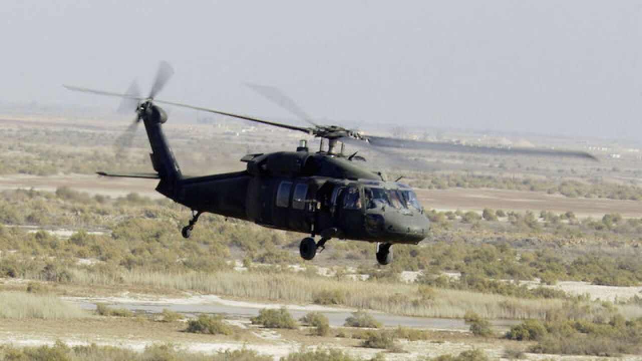 Seven military members killed in helicopter crash in Iraq
