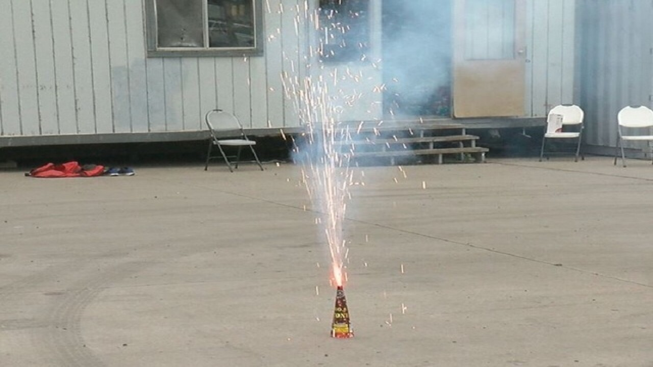 July 4: Legal, illegal fireworks across Colorado