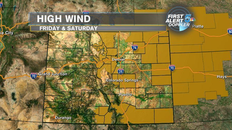 High wind watch (yellow)