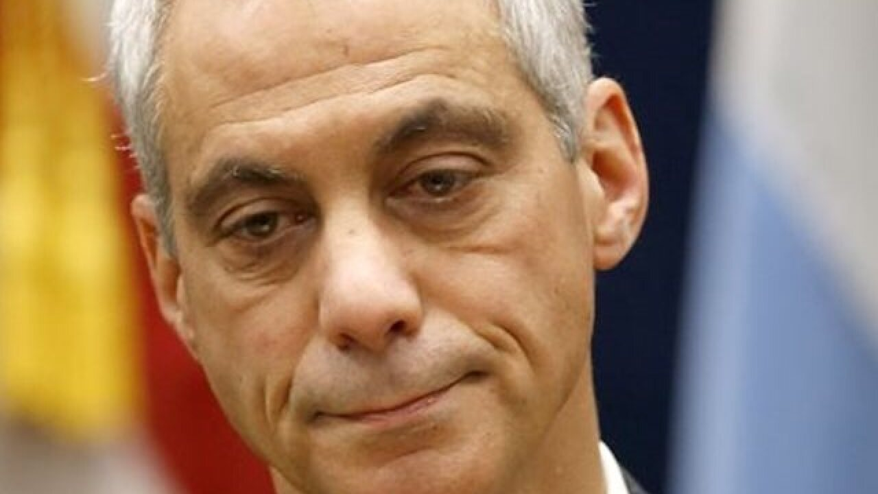 Emanuel: Chicago brought to 'inflection point'