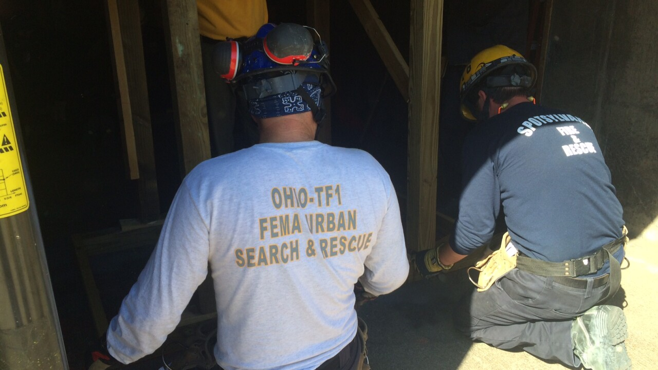 Virginia Task Force is back from Puerto Rico, now they're hard at work in VirginiaBeach