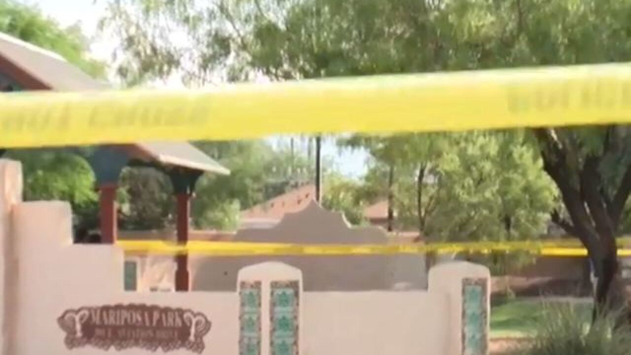 Police investigate homicide at Mariposa Park