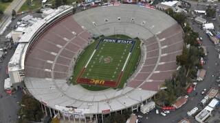 Aerial of 2017 Rose Bowl