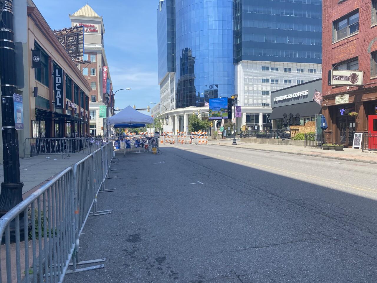 Chippewa Street Closure