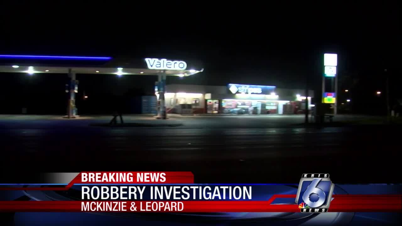 Overnight robbery at Stripes at McKinzie and Leopard