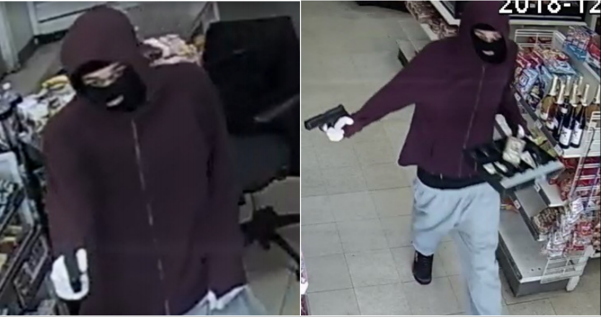 Photos: Gunman robs Ashland store, walks out with cashdrawer