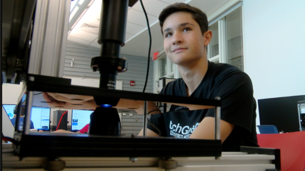 Boca Raton teen's invention could help improve early detection, diagnosis of cancer