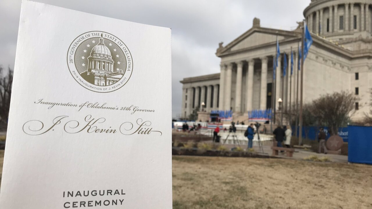 Kevin Stitt's inauguration