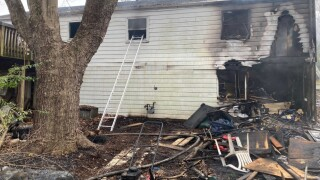 Two firefighters fell to basement of home while battling fire in PG County.jpg