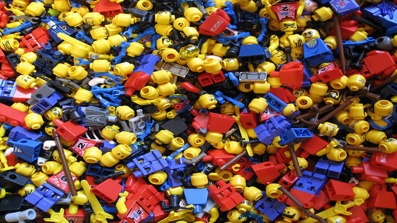 Dozens compete to be LEGO Master Builder
