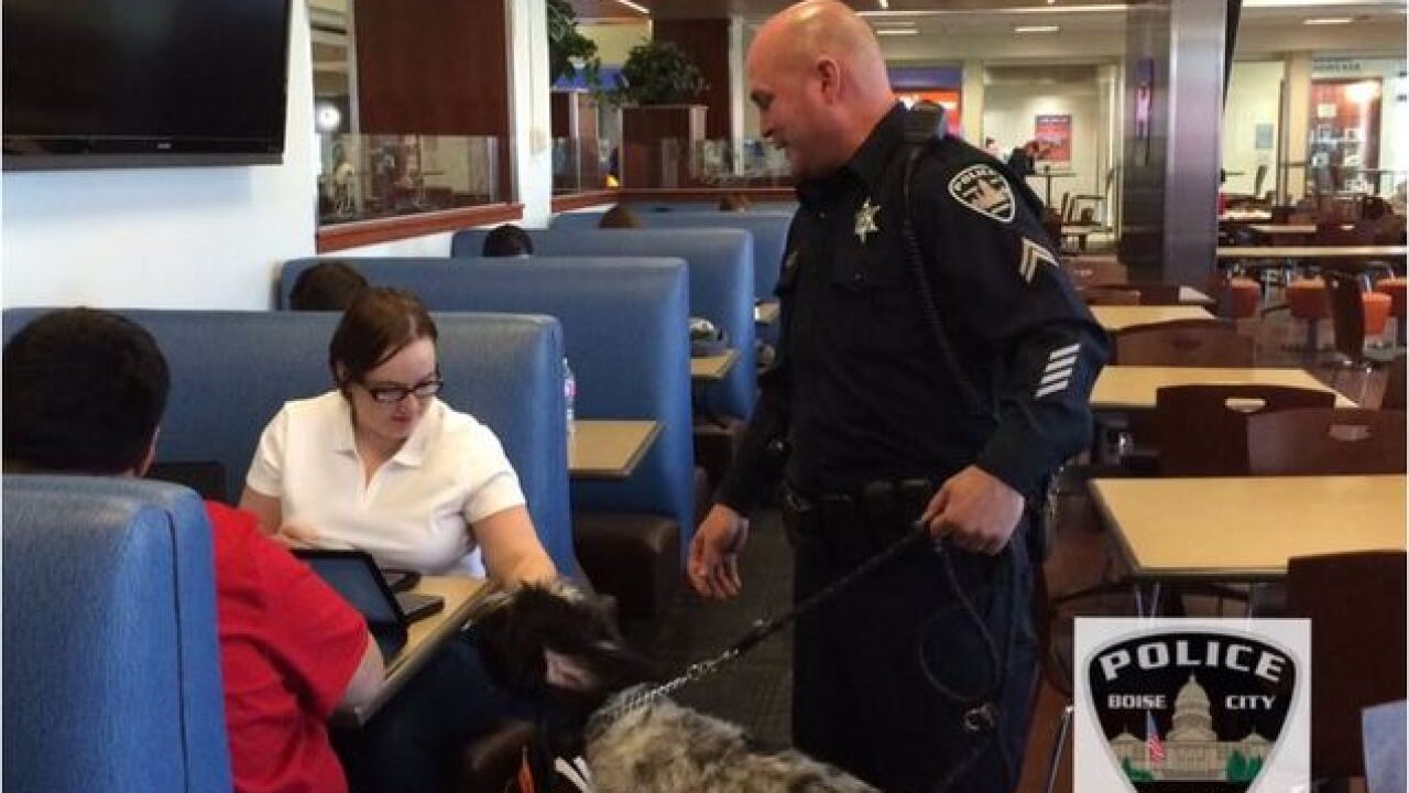 Coffee with A Cop program visits Boise State...
