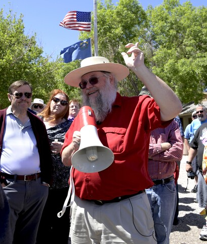 PHOTOS: Mark Hall-Patton leads Clark County Museum tour
