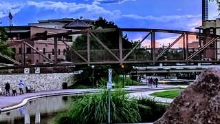 Pueblo riverwalk