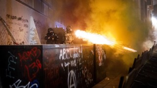 Portland police: Federal agents used gas against protesters