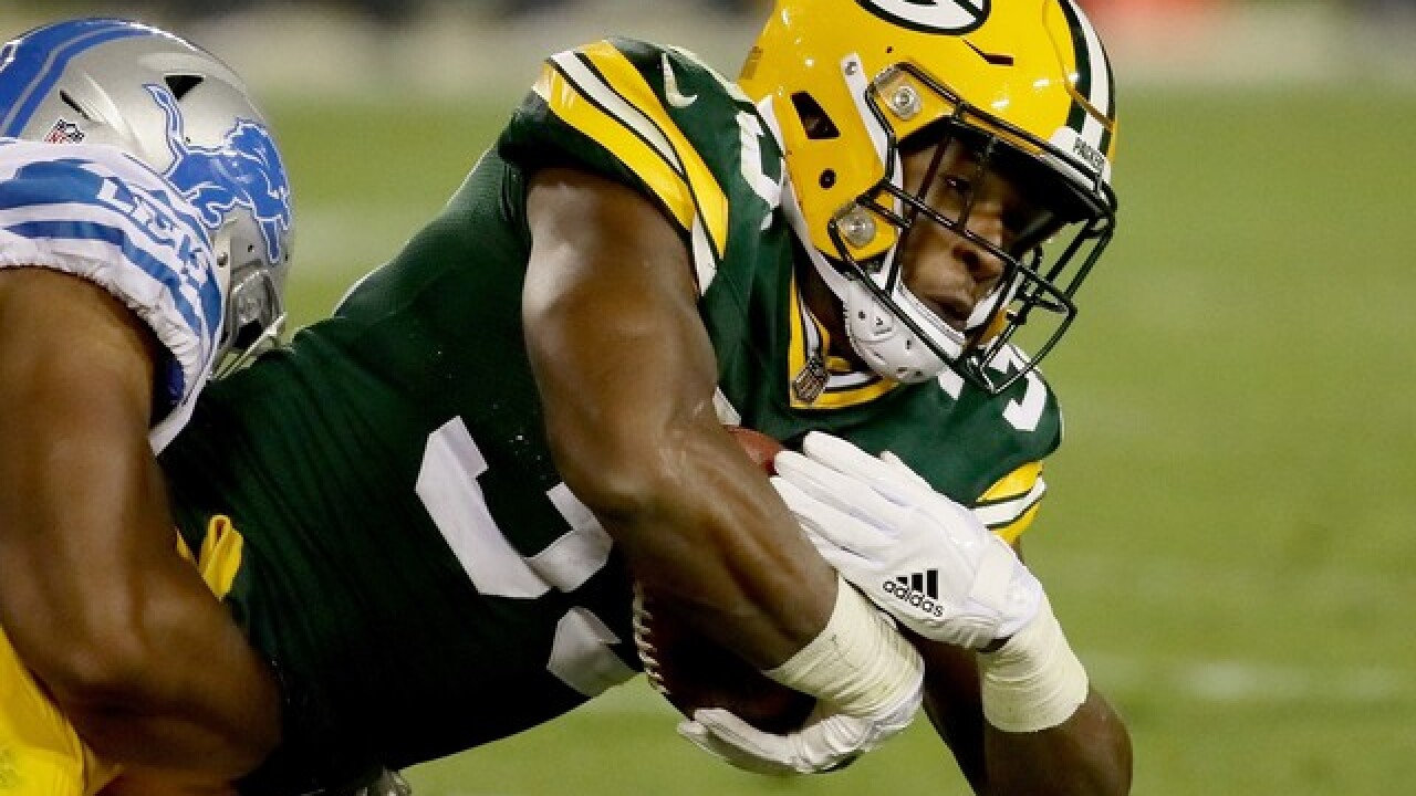 Report: Aaron Jones facing marijuana charge