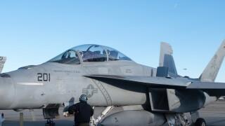 Photos: Jets from NAS Oceana in Virginia Beach head to Texas to honor George H.W.Bush