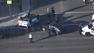 Phoenix police involved in accident near 32nd Street and Greenway
