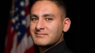 Officer Aurash Zarkeshan
