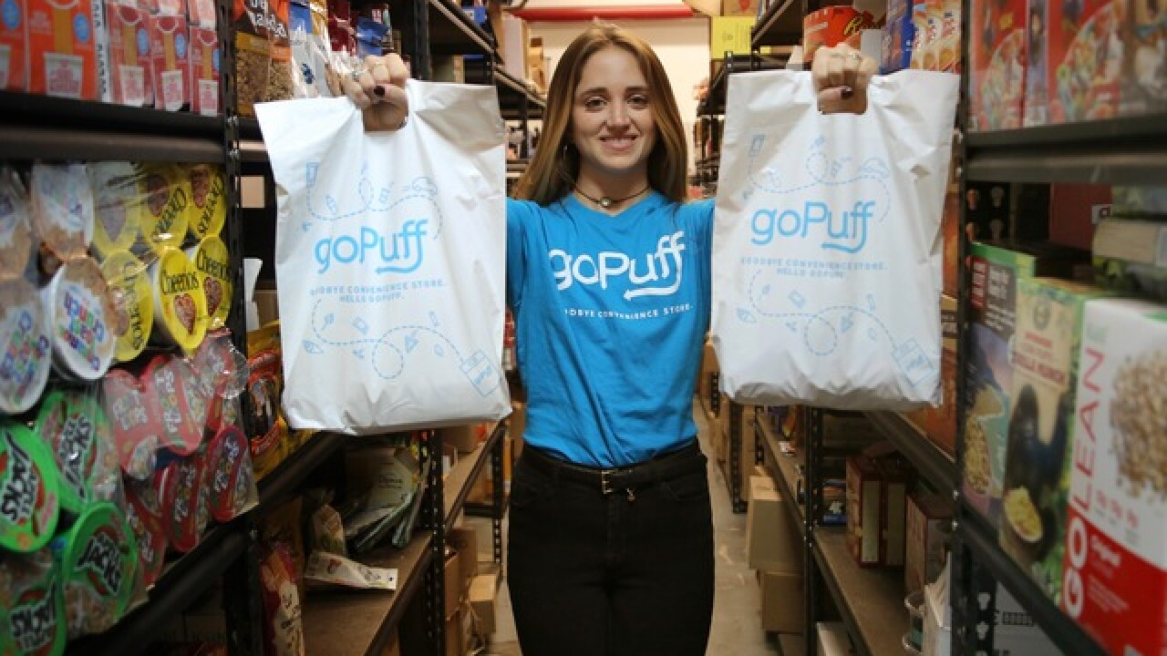 Home delivery market gets more crowded as goPuff debuts in Cincinnati