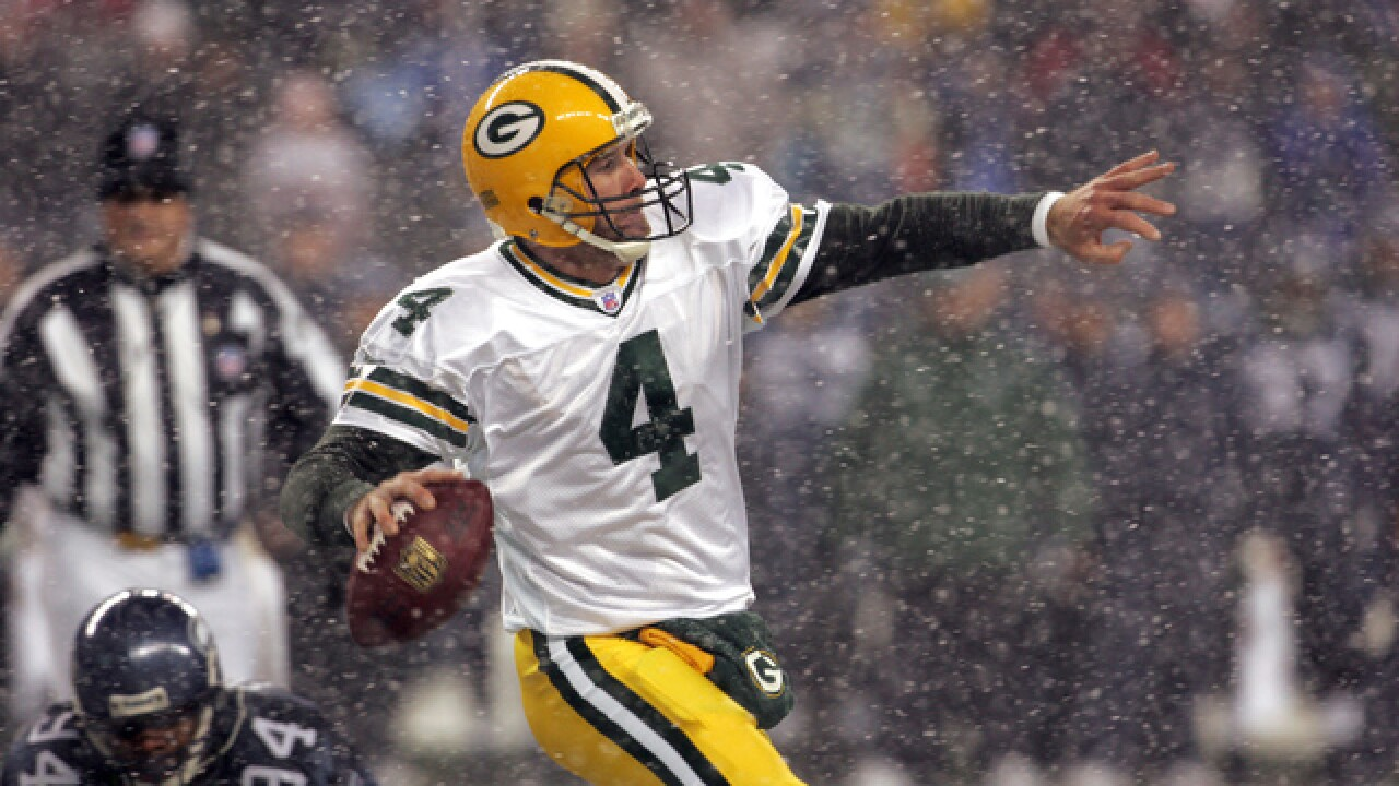 Favre named Hall of Fame semifinalist