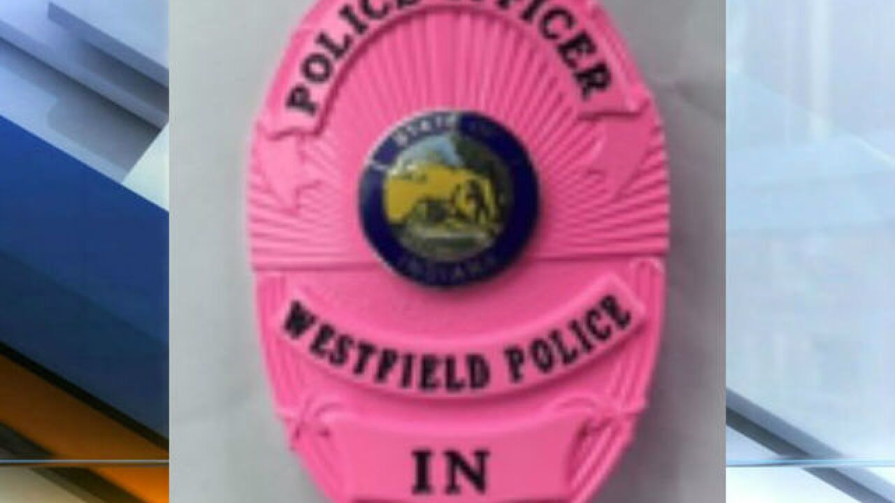 Westfield Police Department to wear pink badges Breast Cancer Awareness Month