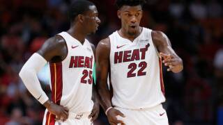 Kendrick Nunn, Jimmy Butler each score 20, Heat hang on to beat Pistons