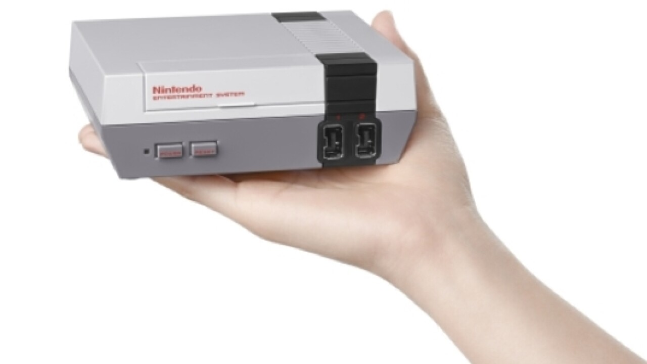 Blast from the past: Nintendo to sell mini NES with 30 built-in games