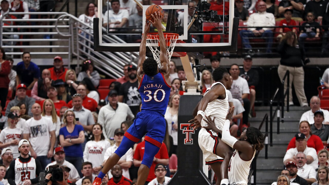 Kansas Texas Tech Basketball
