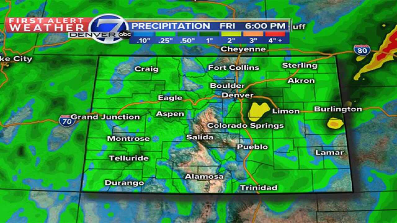 Big changes coming to Colorado aftery dry spell