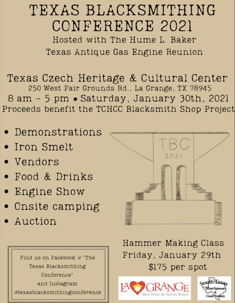 Texas Blacksmithing Conference 2021