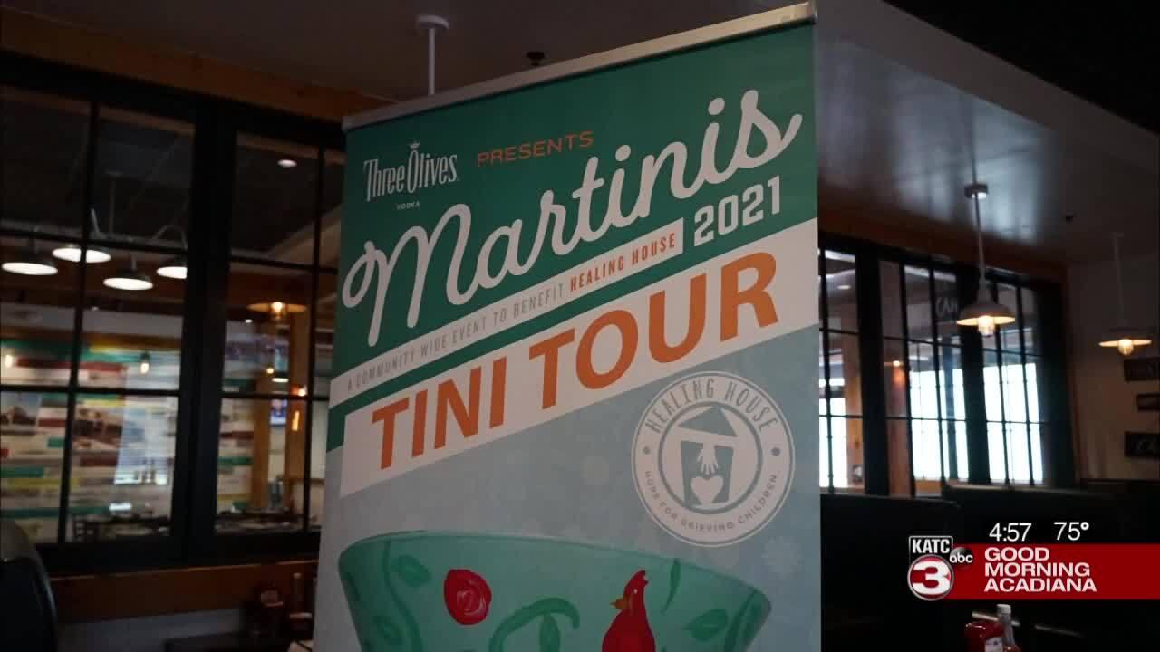 Healing House Martini Tour 2021