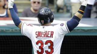 Nick Swisher Indians