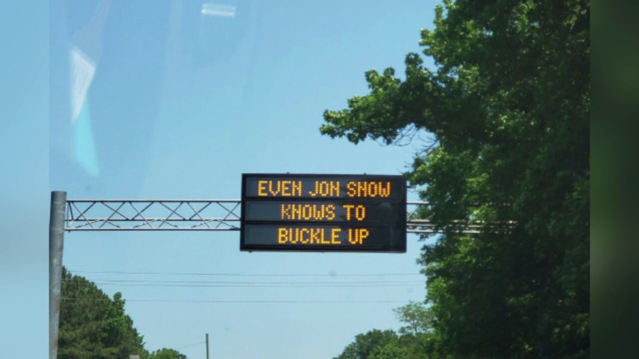 VDOT capitalizing on 'Game of Thrones' to remind drivers to buckle up