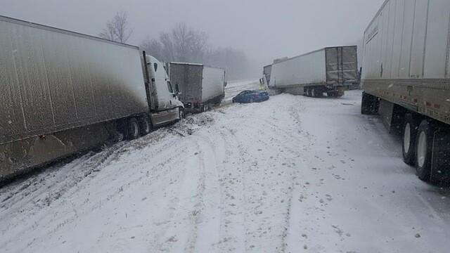 Photos: Dozens Involved In I-40 Wreck Near Jackson