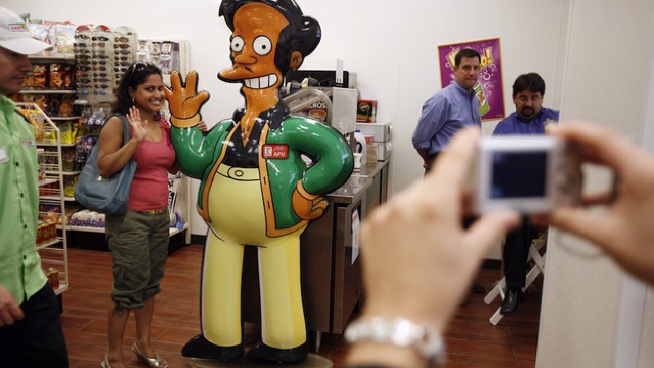 Using 'The Simpsons' to explain how Asian Americans are overlooked