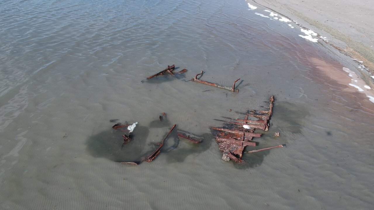 Great Salt Lake shipwreck