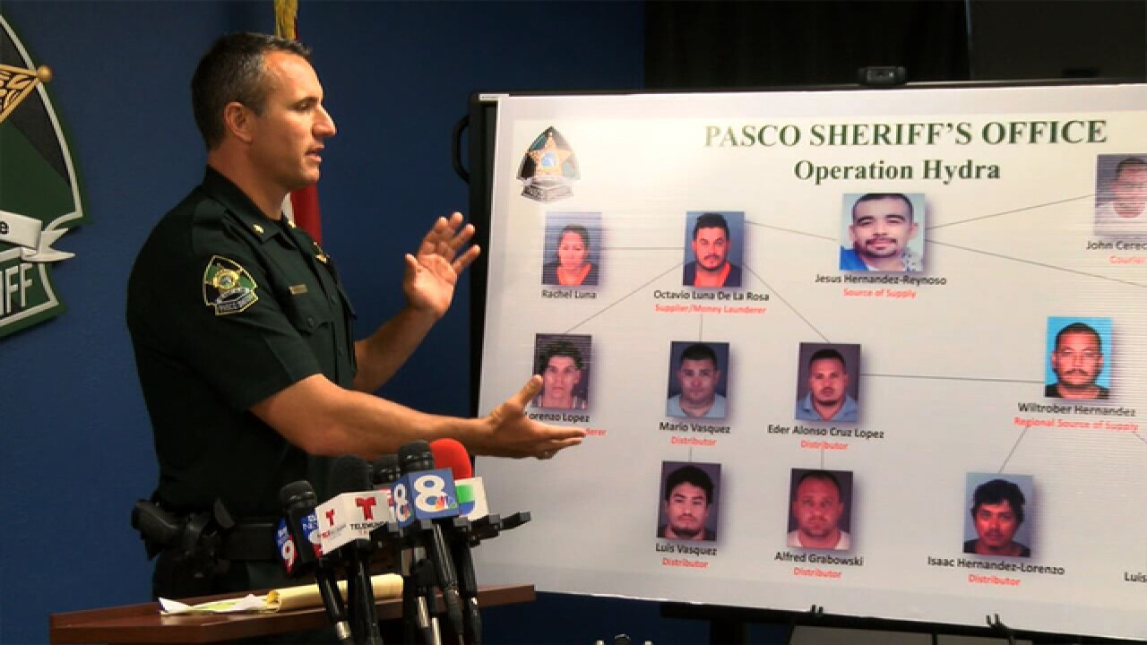 Dade City drug ring busted